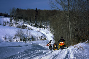 Snowmobile Trails of Nova Scotia