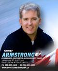 Scott Armstrong, MP